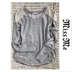 Miss Me Tops - 🆕 {Miss Me} Cozy French Terry Sweatshirt